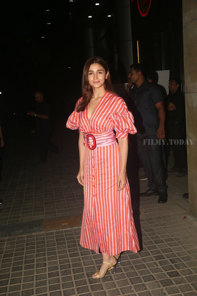 Alia Bhatt - Photos: Screening Of India's Most Wanted   Picture 1649667