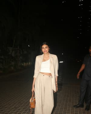 Athiya Shetty - Photos: Screening Of India's Most Wanted
