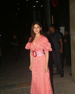 Alia Bhatt - Photos: Screening Of India's Most Wanted