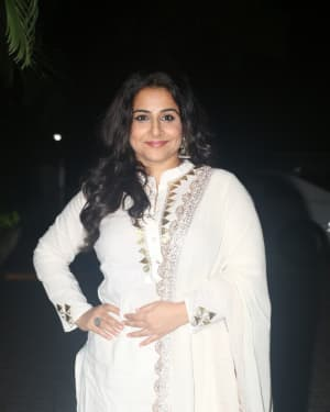 Vidya Balan - Photos: Screening Of India's Most Wanted