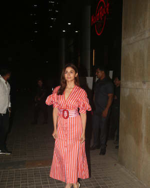 Alia Bhatt - Photos: Screening Of India's Most Wanted | Picture 1649666