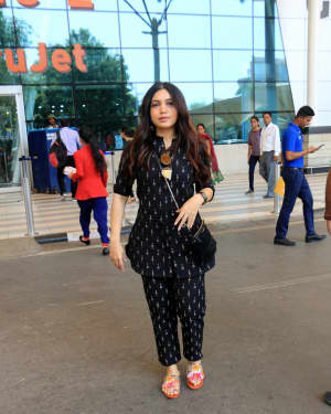 Bhumi Pednekar - Photos: Celebs Spotted At Airport | Picture 1649780