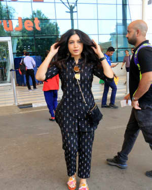 Bhumi Pednekar - Photos: Celebs Spotted At Airport | Picture 1649779