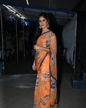 Katrina Kaif - Photos: Interview With Film Bharat Cast
