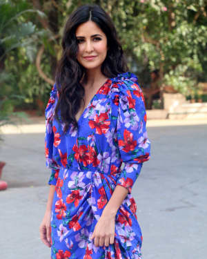 Photos: Katrina Kaif At Mehboob Studio For Promotion Of Movie Bharat