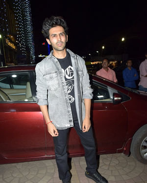Kartik Aaryan - Photos: Screening Of Film Ujda Chaman At Pvr Ecx In Andheri