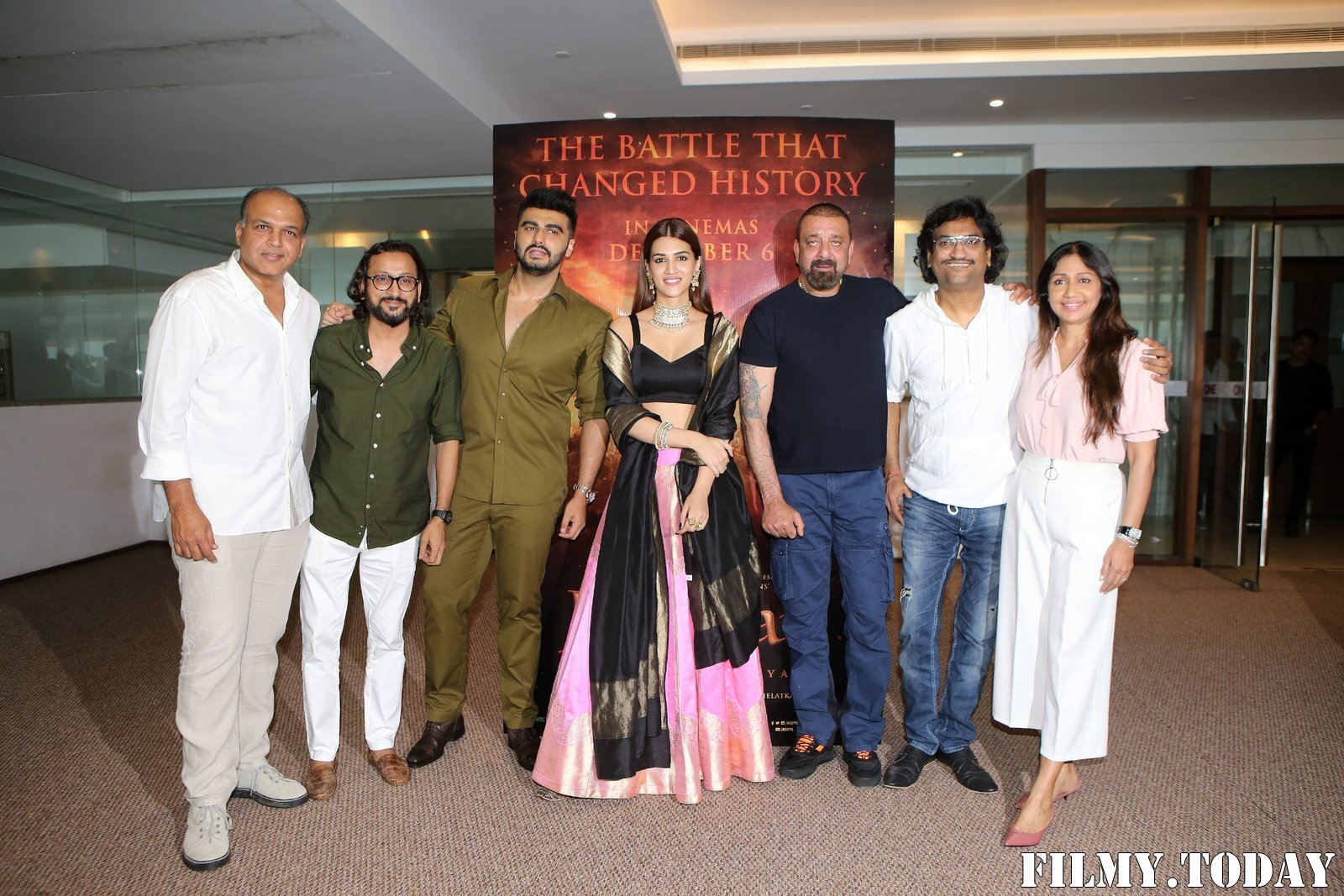 Photos: Trailer Launch Of Film Panipat At Indus Club | Picture 1696317