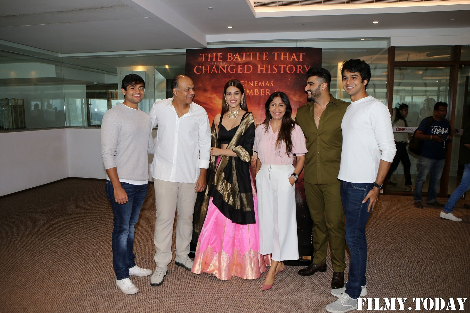 Photos: Trailer Launch Of Film Panipat At Indus Club | Picture 1696315