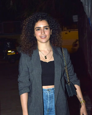 Sanya Malhotra - Photos: Screening Of Film Bala At Sunny Sound