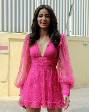 Ananya Pandey - Photos: Trailer Launch Of Pati Patni Aur Woh | Picture 1696378