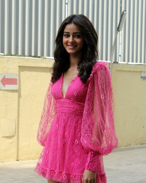 Ananya Pandey - Photos: Trailer Launch Of Pati Patni Aur Woh