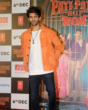 Kartik Aaryan - Photos: Trailer Launch Of Pati Patni Aur Woh | Picture 1696382