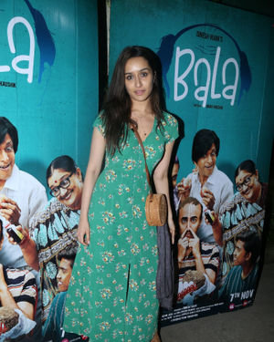 Shraddha Kapoor - Photos: Screening Of Film Bala At Sunny Sound