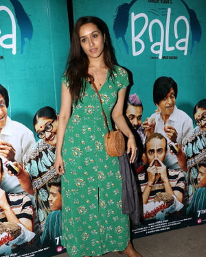 Shraddha Kapoor - Photos: Screening Of Film Bala At Sunny Sound | Picture 1697297