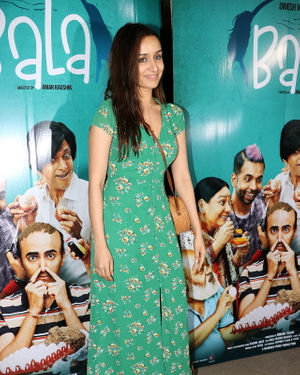 Shraddha Kapoor - Photos: Screening Of Film Bala At Sunny Sound | Picture 1697299