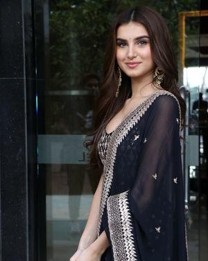Tara Sutaria - Photos: Promotion Of Marjaavaan At Novotel Hotel