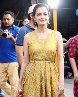 Photos: Dia Mirza At The Launch Of Social Initiative 'Exceed Cares'