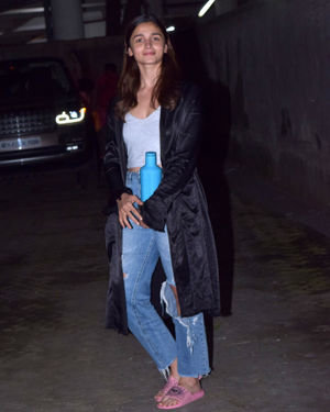 Photos: Alia Bhatt Spotted At Sanjay Leela Bhansali's Office