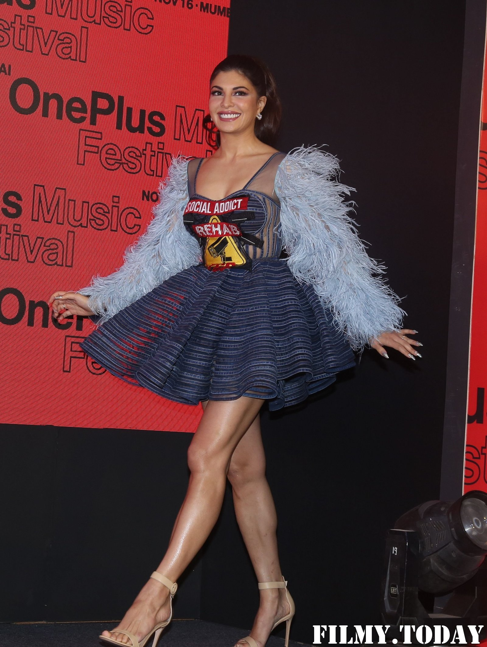 Jacqueline Fernandez - Photos: Press Conference Of One Plus Music Concert At St Regis | Picture 1697925