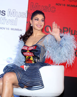 Jacqueline Fernandez - Photos: Press Conference Of One Plus Music Concert At St Regis | Picture 1697928