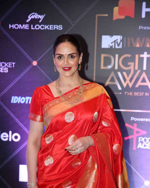 Esha Deol - Photos: Red Carpet For The 2nd Edition Of MTV IWMBuzz Digital Awards