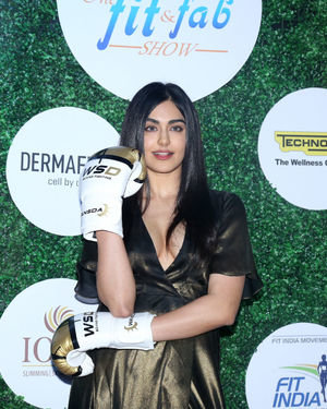 Adah Sharma - Photos: Celebs At Global Spa Fit & Fab Awards 2019