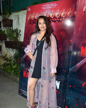 Sonakshi Sinha - Photos: Screening Of Marjaavaan At Sunny Sound