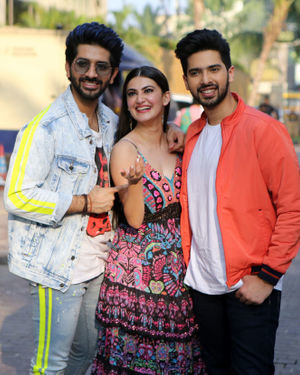 Photos: Promotion Of Film Yeh Saali Aashiqui At Jw Marriott