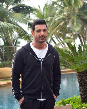 John Abraham - Photos: Promotion Of Film Pagalpanti At Jw Juhu | Picture 1700218
