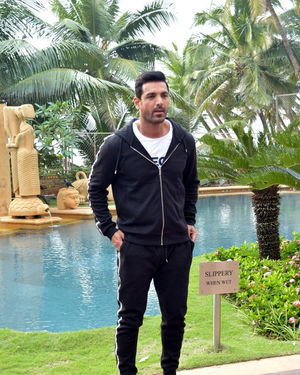 John Abraham - Photos: Promotion Of Film Pagalpanti At Jw Juhu | Picture 1700168