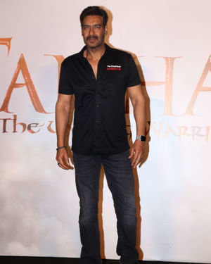 Ajay Devgn - Photos: Trailer Launch Of The Film Tanhaji At Pvr Juhu