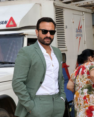 Saif Ali Khan - Photos: Trailer Launch Of The Film Tanhaji At Pvr Juhu