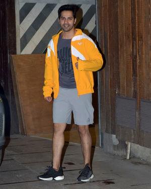 Varun Dhawan - Photos: Celebs Spotted at Gym