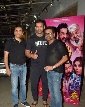 Photos: Screening Of Film Pagalpanti At Sunny Sound