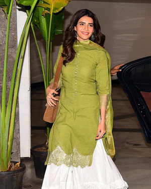 Karishma Tanna - Photos: Celebs at Manish Malhotra's House