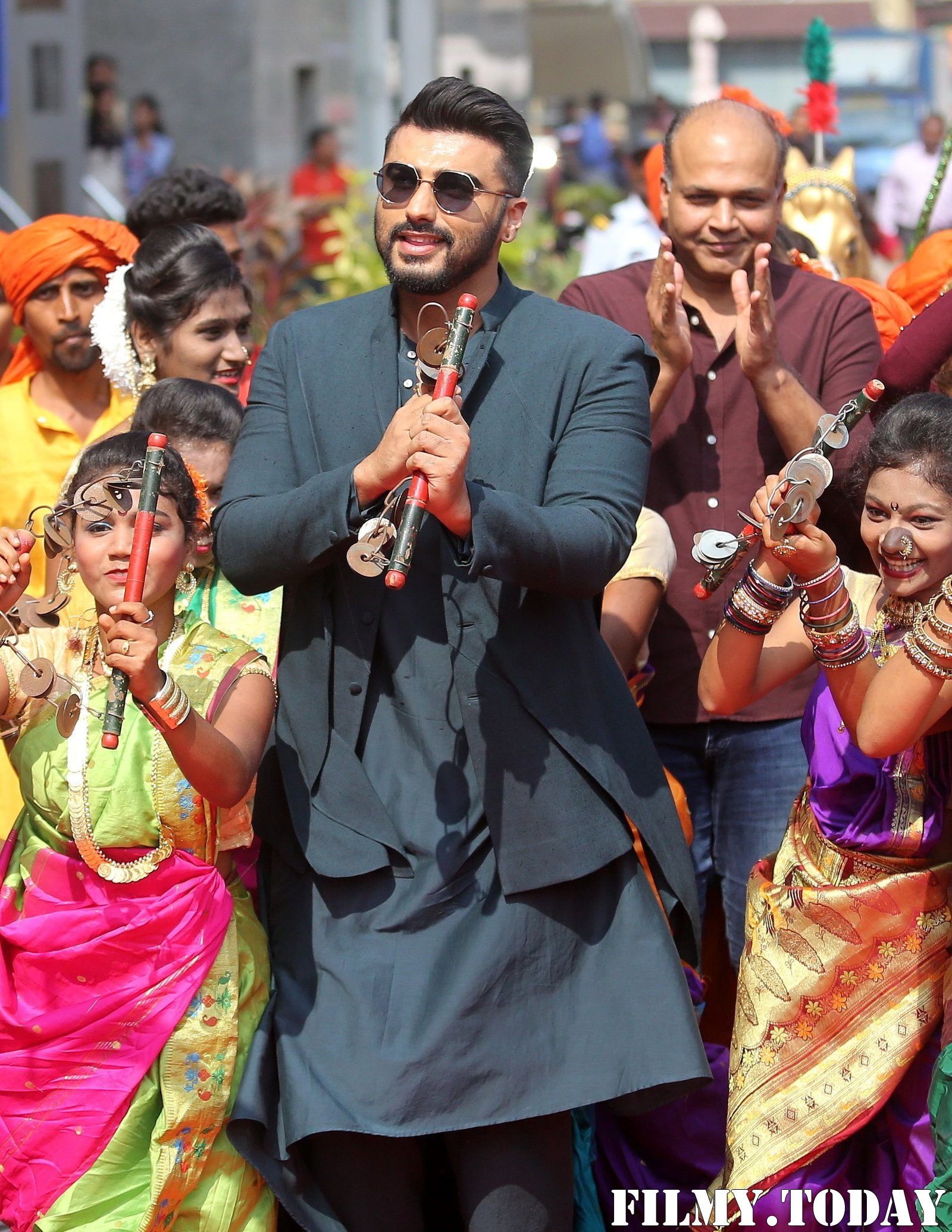 Arjun Kapoor - Photos: Mann Mein Shiva Song Launch From Film Panipat At Pvr Ecx | Picture 1701286