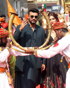 Arjun Kapoor - Photos: Mann Mein Shiva Song Launch From Film Panipat At Pvr Ecx | Picture 1701303