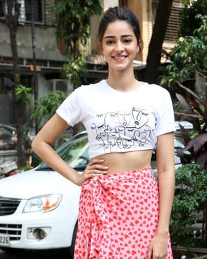 Ananya Panday - Photos: Promotion Of Film Pati Patni Aur Woh At Mithibai College | Picture 1701175