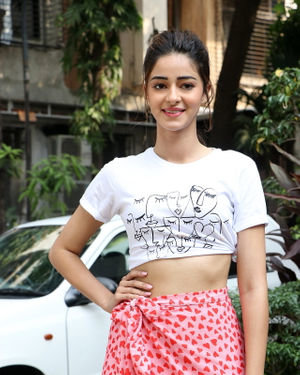 Ananya Panday - Photos: Promotion Of Film Pati Patni Aur Woh At Mithibai College