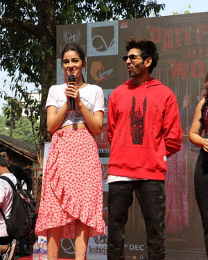 Photos: Promotion Of Film Pati Patni Aur Woh At Mithibai College | Picture 1701186
