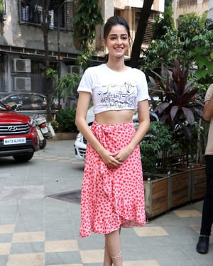 Ananya Panday - Photos: Promotion Of Film Pati Patni Aur Woh At Mithibai College | Picture 1701176