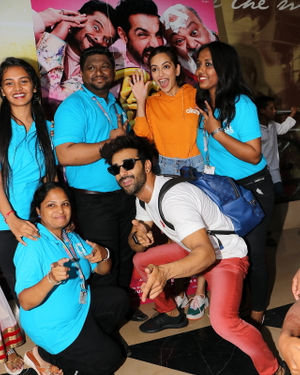 Photos: Special Screening Of Their Film Pagalpanti For NGO Kids | Picture 1701371