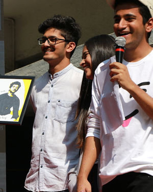 Photos: Promotion Of Film Yeh Saali Aashiqui At Kshitij Fest In Mithibai College | Picture 1702061