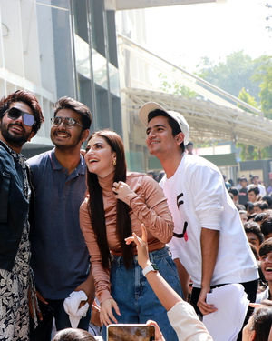 Photos: Promotion Of Film Yeh Saali Aashiqui At Kshitij Fest In Mithibai College | Picture 1702056