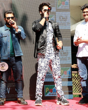 Photos: Promotion Of Film Yeh Saali Aashiqui At Kshitij Fest In Mithibai College