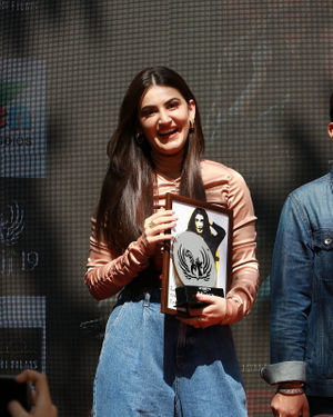 Photos: Promotion Of Film Yeh Saali Aashiqui At Kshitij Fest In Mithibai College | Picture 1702060