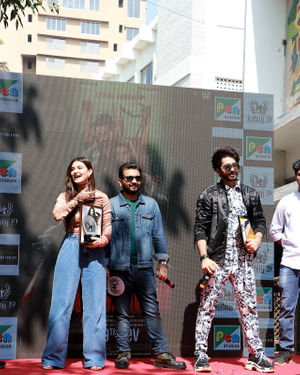 Photos: Promotion Of Film Yeh Saali Aashiqui At Kshitij Fest In Mithibai College | Picture 1702059