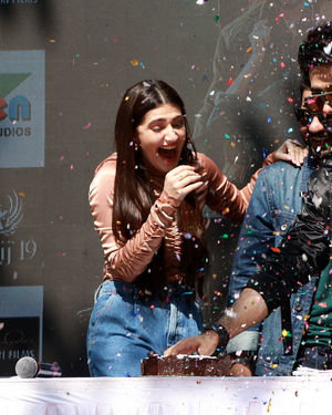 Photos: Promotion Of Film Yeh Saali Aashiqui At Kshitij Fest In Mithibai College | Picture 1702062
