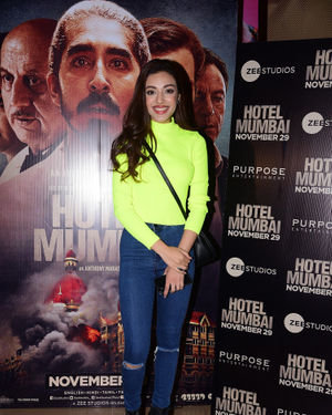 Sahher Bambba - Photos: Screening Of Film Hotel Mumbai At Juhu