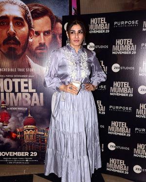 Raveena Tandon - Photos: Screening Of Film Hotel Mumbai At Juhu